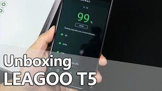 LEAGOO T5 Unboxing & Hands On Video