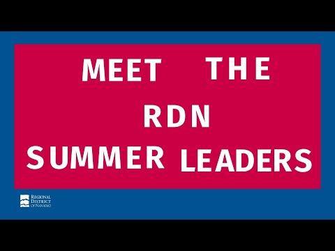 Meet the RDN Summer Camp Leaders 2021