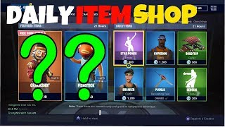 *NEW* DAILY ITEM SHOP IN FORTNITE BATTLE ROYALE AND MAYBE NEW SKINS