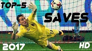 Andrey Lunev -  TOP-5 SAVES  -  FC Ufa - FC Zenit  -  2017   HD 