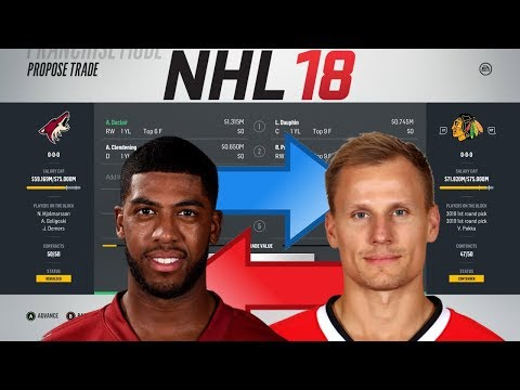NHL 18 - DUCLAIR TO CHICAGO TRADE SIMULATION