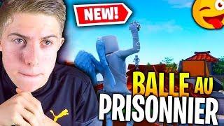 BALLE AU PRISONNIER AVEC LA TEAM CROÛTON SUR FORTNITE CRÉATIF !!!
