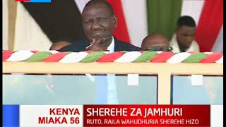 A thrilling performance of young talents on 56th jamhuri day fete on dangers of corruption