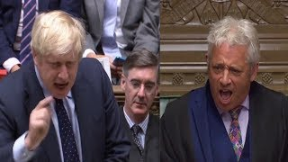 Furious Boris Johnson calls for a SNAP ELECTION seconds after humiliating No-deal Brexit defeat