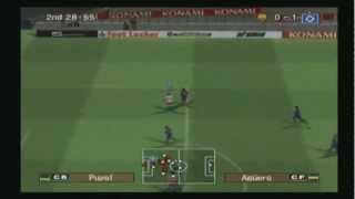 PES 2007 PS2 Gameplay