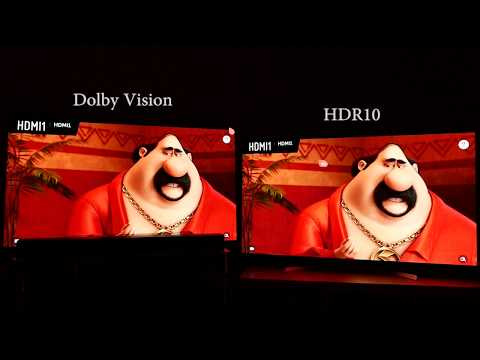 Dolby Vision vs HDR10 4K Blu-ray HDR Comparison