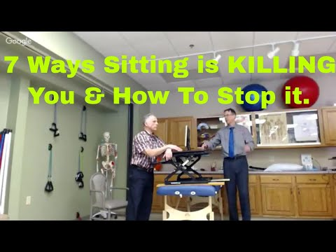 7 Ways Sitting is KILLING You & How to Stop It.