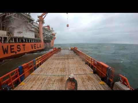 Crewboat life in Port Fourchon Louisiana
