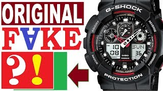 G-Shock real or fake: how to spot - Full Guide