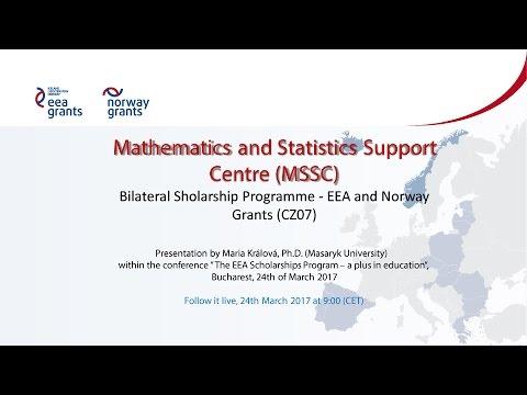Mathematics and Statistics Support Centre (MSSC)