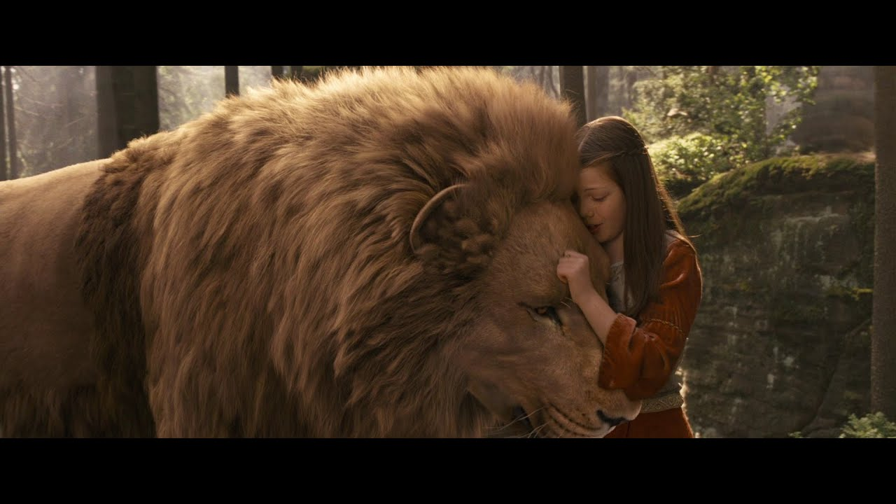 Lucy and Aslan (A Narnia tribute in pictures) - YouTube