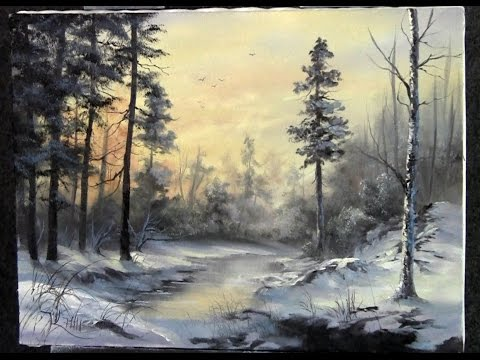 Paint with Kevin - Winter Sunshine