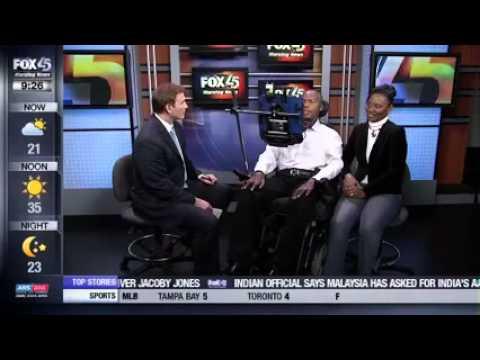 FOX Baltimore: Tom Rodgers Interviews O.J. & Chanda Brigance on the First Brigance Brigade 5.7K