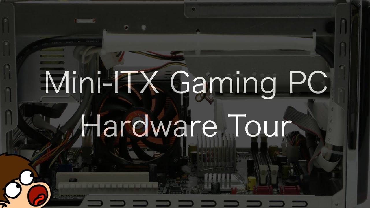 budget mini itx gaming pc hardware tour the powerpc hub. Black Bedroom Furniture Sets. Home Design Ideas