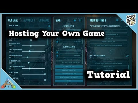 How to make a multiplayer server on ark ps4
