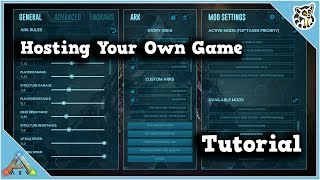 ark: Survival Evolved Dedicated Server (Free) Full Tutorial  STEAM