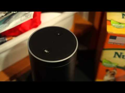 Alexa Checks the Weather