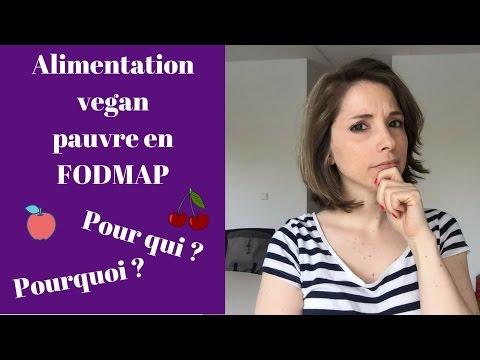 Alimentation vegan pauvre en FODMAP : pour qui ? Pourquoi ?