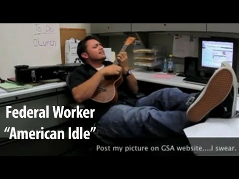 "UNCOVERED: Federal Government Worker ""American Idle""? - Long Version and GSA Awards Ceremony"