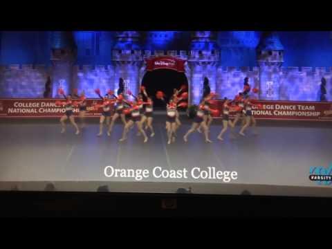 Orange Coast College Dance team.  2017 UDA Pom National Champs!!