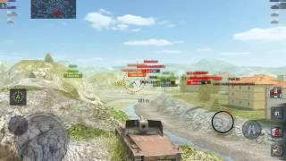 World of Tanks Blitz - RhM Borsig WT gameplay