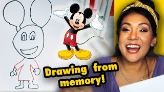 DRAWING CARTOONS FROM MEMORY! 🐭 | #STIKKISHOW