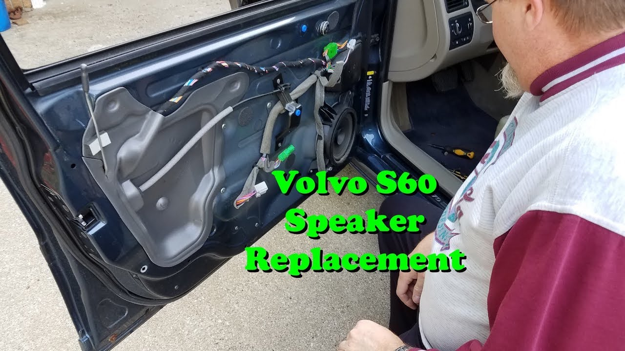 Volvo S60 Front Door Speaker Replacment Youtube
