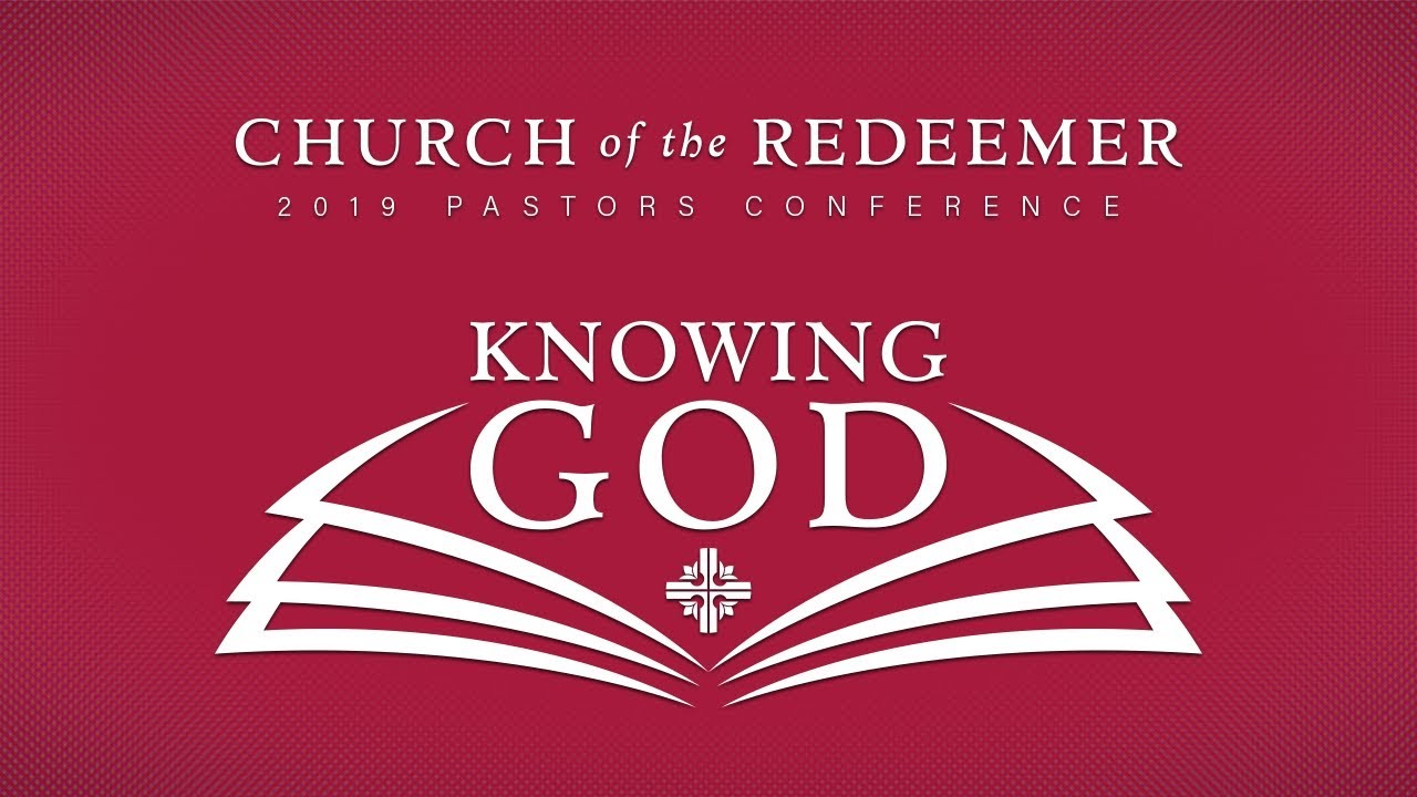 2019 Church of the Redeemer Pastors Conference | January 7-9, 2019