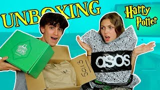 BIG UNBOXING HARRY POTTER (Pop, Baguette : Sylvoë & Wizardry Box + HAUL Asos) l Ben Hpts