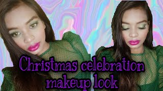 Фото Here Is A Makeup Look For You For Your Christmas Evening, December 31st Night And Wedding Function.