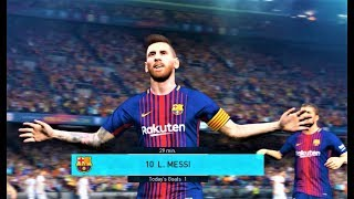Barcelona vs Alaves   All Goals & Full Match 2018   PES 2018 Gameplay HD
