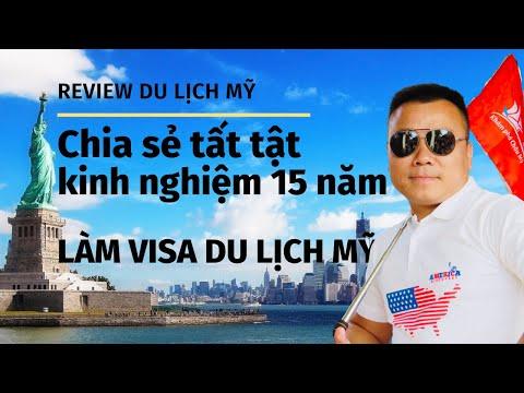 Rút ruột chia sẻ tất tật kinh nghiệm xin visa Mỹ hơn 15 năm làm nghề DU LỊCH MỸ