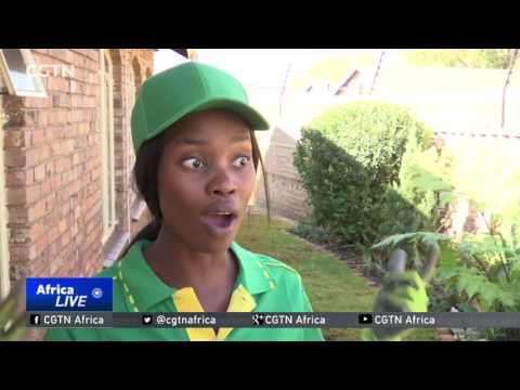 Ladies in Soweto take on landscaping as a career