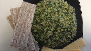 видео Чечевично-шпинатный салат