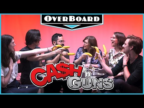 Cash 'n Guns is how bank robbers learn to share