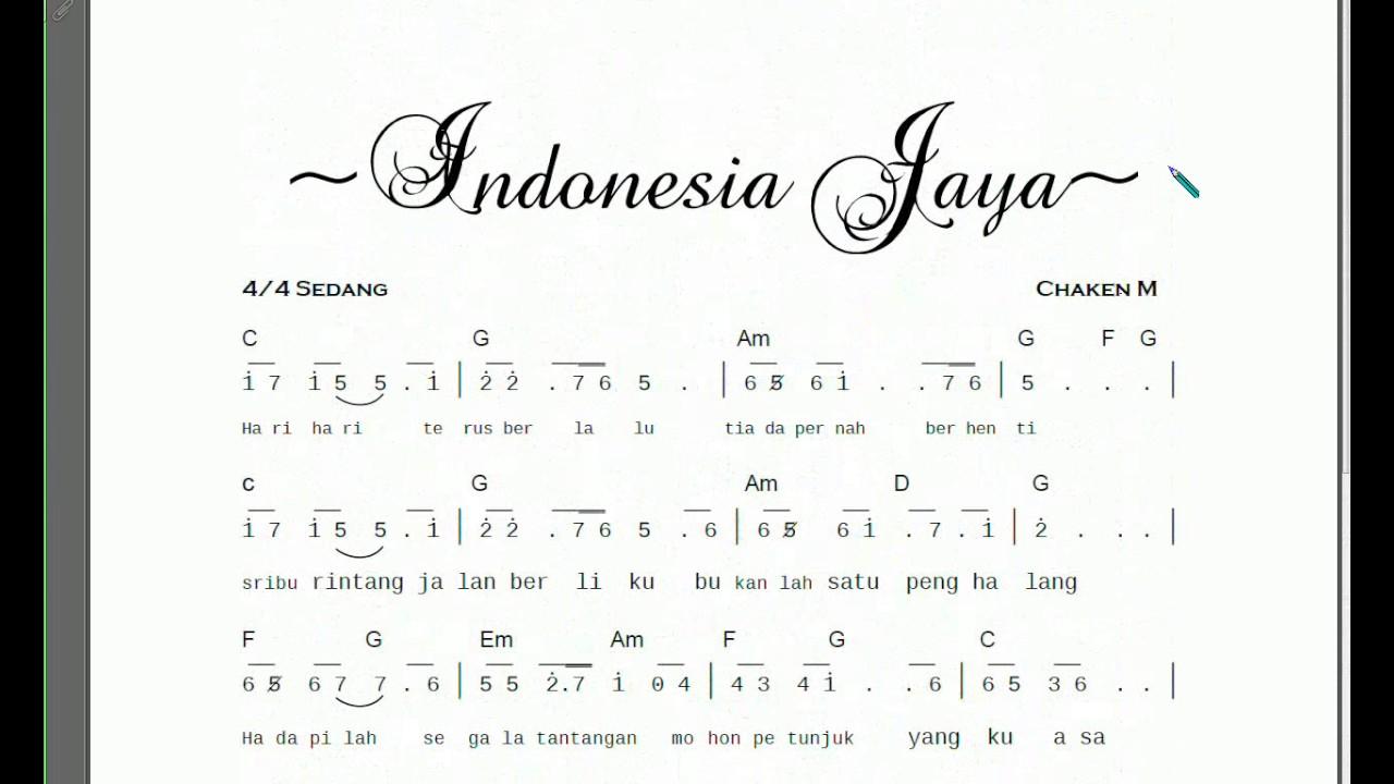 Instrumen indonesia jaya youtube.