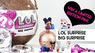 Limited Edition LOL Surprise Big Surprise Toy Review Giveaway Christmas Toys 2017