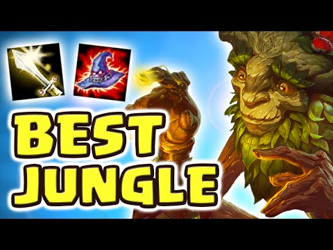 THE BEST JUNGLER EVER CREATED | NEW IVERN JUNGLE SPOTLIGHT (
