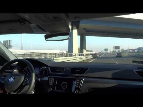 2015 2016 Skoda Superb III 1.4 TSI (150hp) Test Drive Urban Fuel Consumption Jazda Testowa 2
