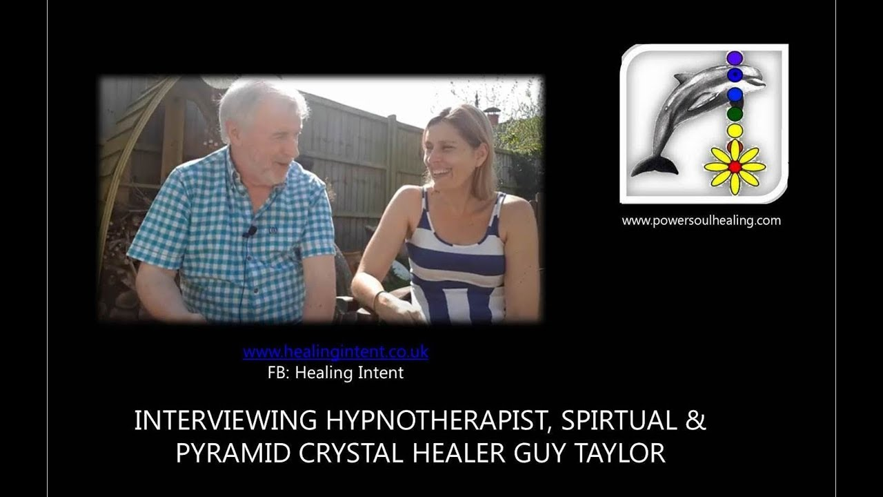 Interview with Hypnotherapist, Spirtual & Pyramid Crystal Healer Guy Taylor