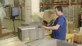 видео: Автоматизированный складской комплекс (АСК) SENSORLINK SL-Box
