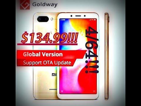 Лучший бюджетный смартфон 2019 года. Xiaomi Redmi 6 4/64 GB Лимитированая версия! GLOBAL!!!