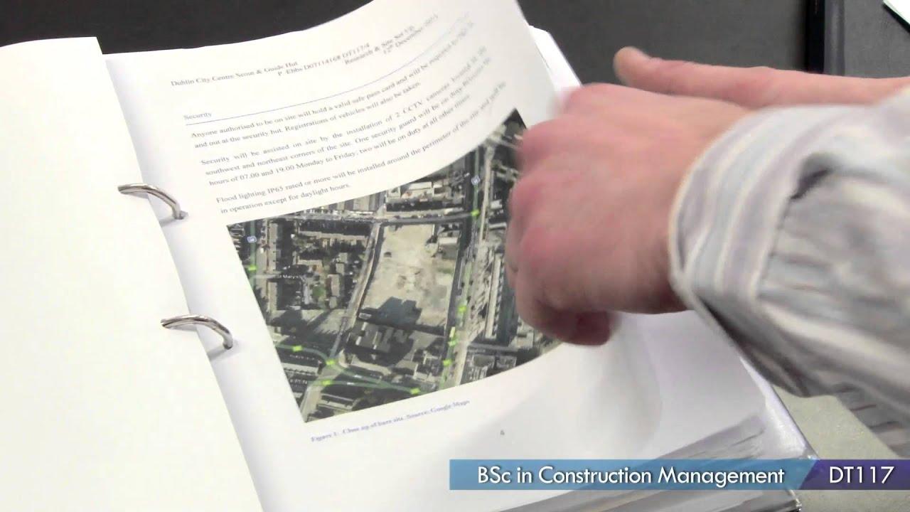 Dublin Institute of Technology - DT117 Construction Management (Level 8)