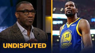 'KD owes me an apology' for being right about why he left Golden State - Shannon | NBA | UNDISPUTED