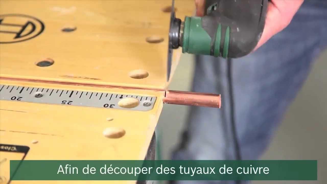 tuto comment d couper des tuyaux en cuivre ou du pvc youtube. Black Bedroom Furniture Sets. Home Design Ideas