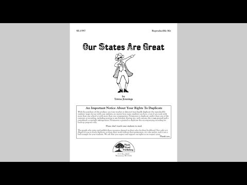 Our States Are Great - Singles Reproducible Kit