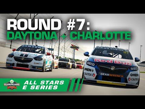 Round #7 [Race #21 + #22 + #23]: Daytona + Charlotte Raceway - BP All Stars Eseries | Supercars 2020