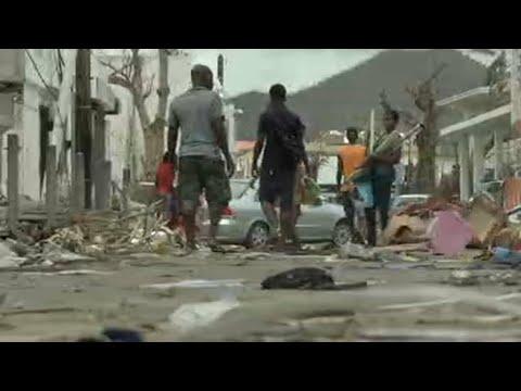 Après le passage d'Irma, l'île de Saint-Martin est livrée aux pillages