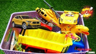 Toys Review for Kids| Toys Review and Learning Sounds Police Cars, Crocodil, Bikes, Helicopter,