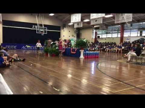 Ruby Wise Elementary School Awards Ceremony 4th Grade For Landon Bonds May 16 2017